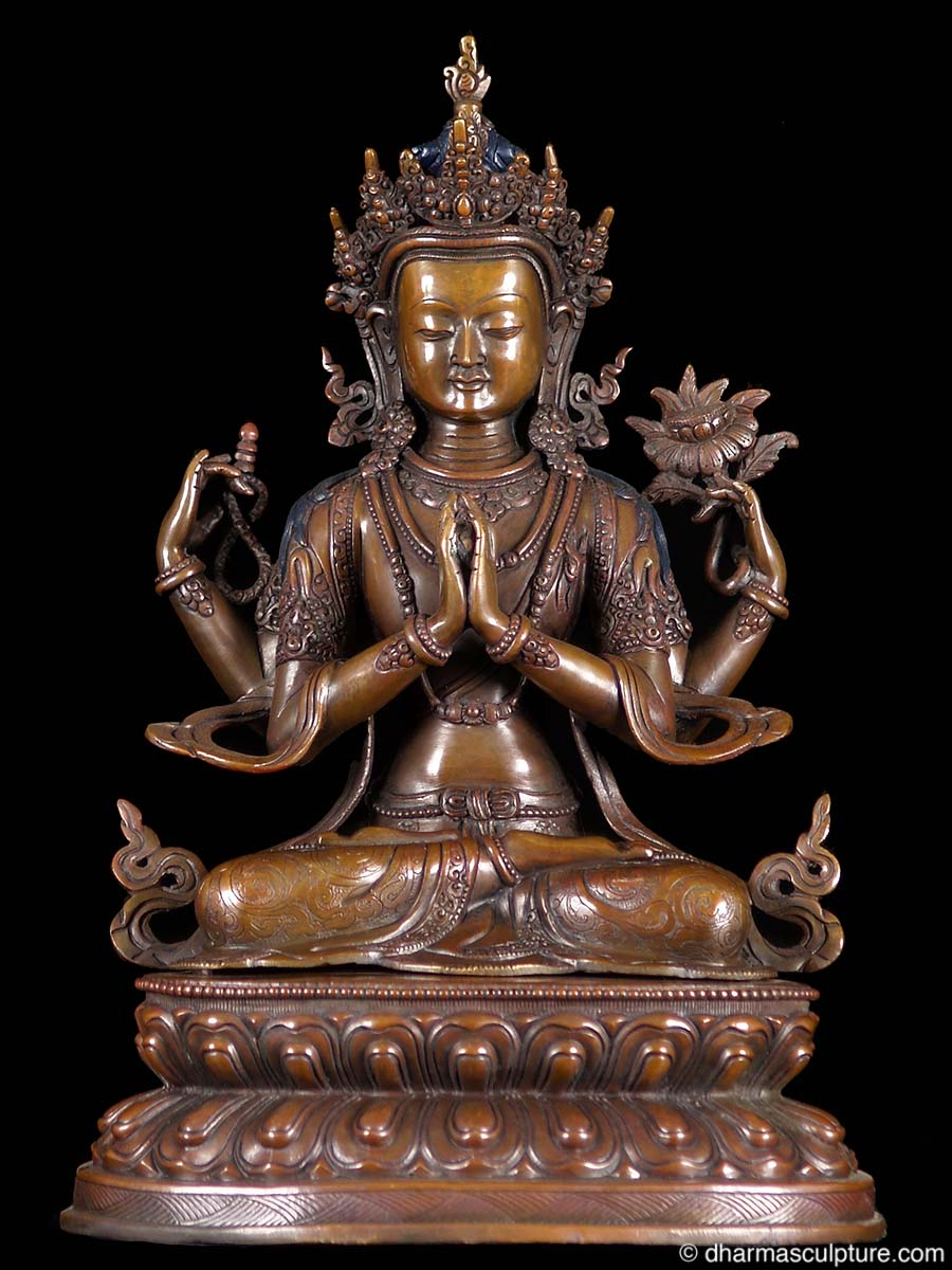Like this avalokiteshvara buddha statue