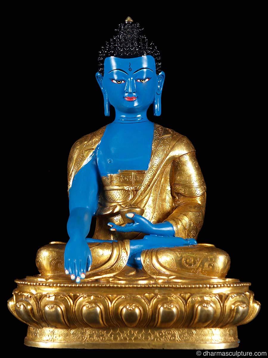 Hand painted copper shakyamuni buddha statue 7n84 hand painted copper shakyamuni buddha statue 13 buycottarizona