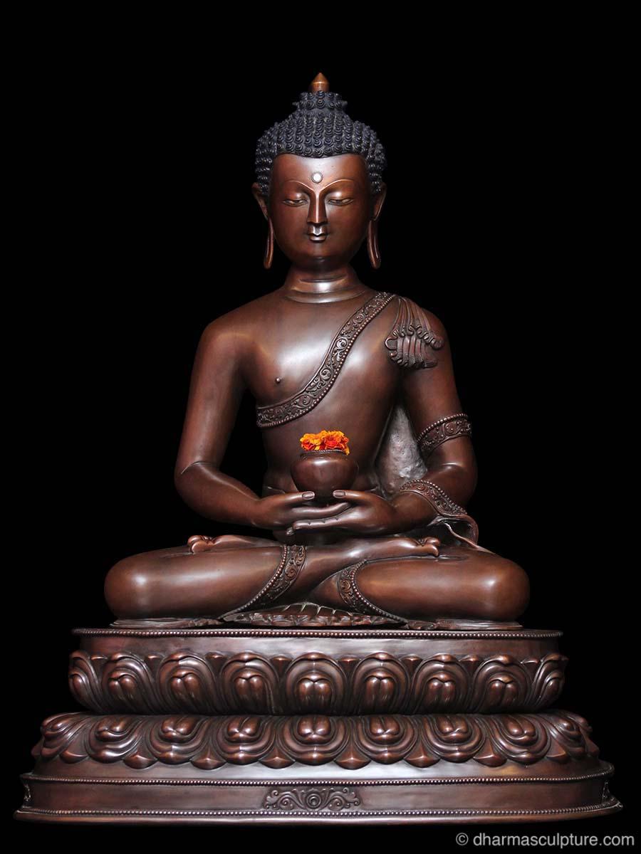 Celestial Buddha Amitabha Statue 21 5
